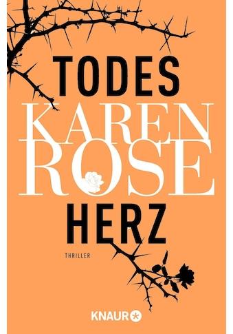 Buch »Todesherz / Karen Rose, Kerstin Winter« kaufen