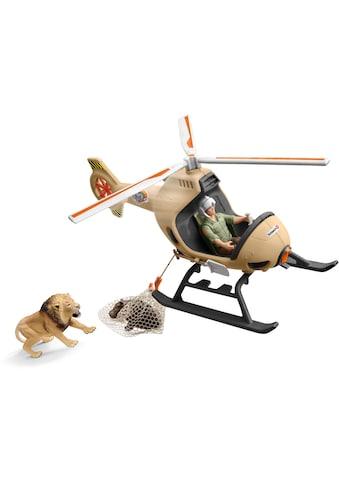 """Schleich® Spielwelt """"Wild Life, Helikopter Tierrettung (42476)"""", (Set kaufen"""