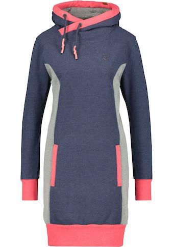 Alife & Kickin Sweatkleid »JilineAK«, sportives Kapuzen-Kleid mit Kontrastdetails und... kaufen