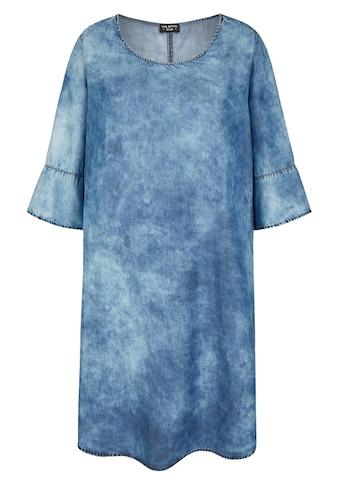 VIA APPIA DUE Modernes Kleid in Jeans-Optik kaufen