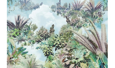 Komar Fototapete »Tropical Heaven«, bedruckt-floral-abstrakt kaufen
