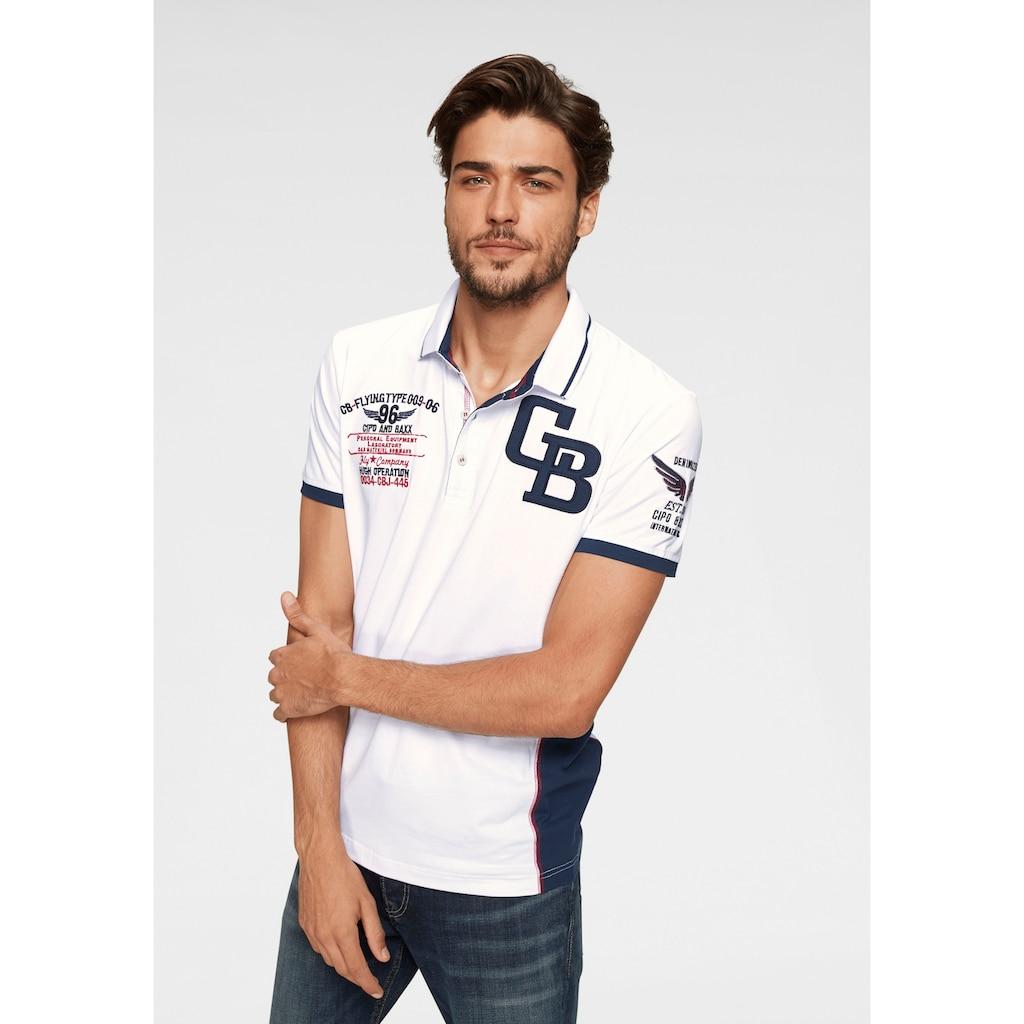 Cipo & Baxx Poloshirt »CB«
