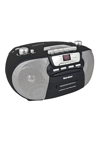 "Karcher »RR 5040 - B ""Oberon""« Stereo - CD Player kaufen"