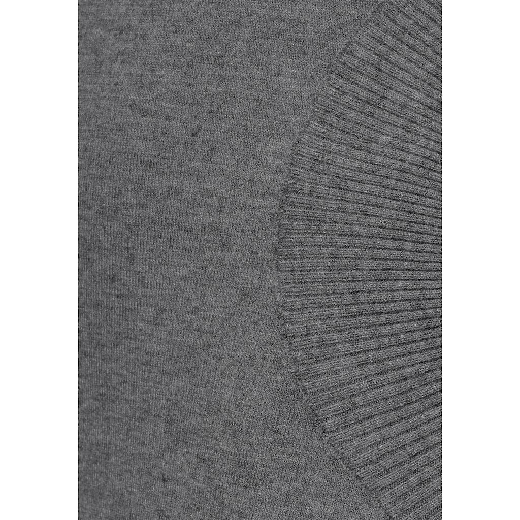 Boysen's Strickkleid, mit modischen Taschen