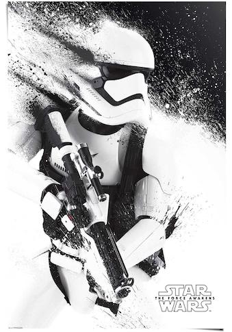 Reinders! Poster »Poster Star Wars Episode VII Stormtrooper«, Science-Fiction, (1 St.) kaufen