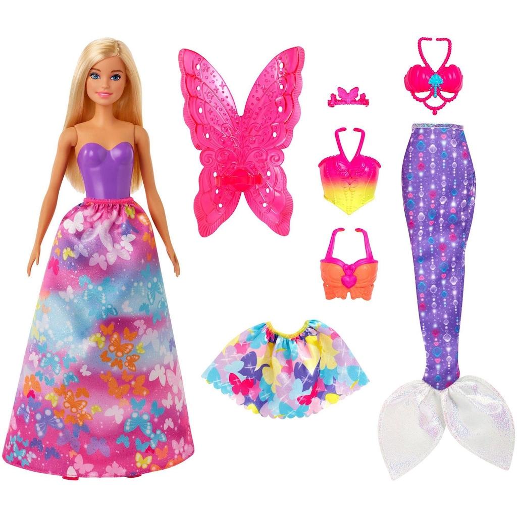Barbie Anziehpuppe »Dreamtopia 3-in-1-Fantasie«