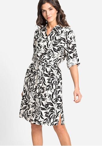 Olsen Sommerkleid, mit Bambusprint kaufen