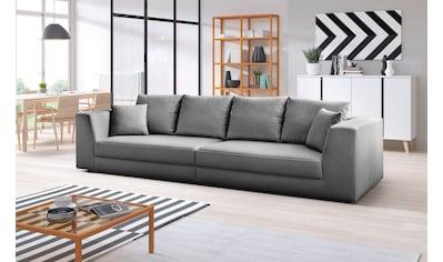 INOSIGN Big-Sofa »Amiya«, mit Zierkissen kaufen