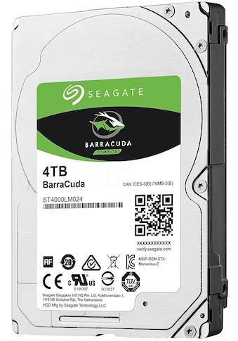 Seagate HDD-Festplatte »BarraCuda 4 TB, SATA« kaufen