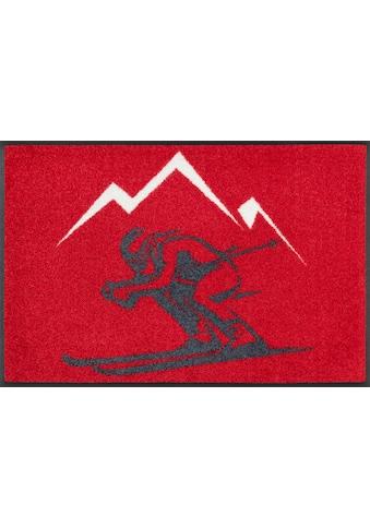 wash+dry by Kleen-Tex Fußmatte »Ski«, rechteckig, 7 mm Höhe, Fussabstreifer,... kaufen