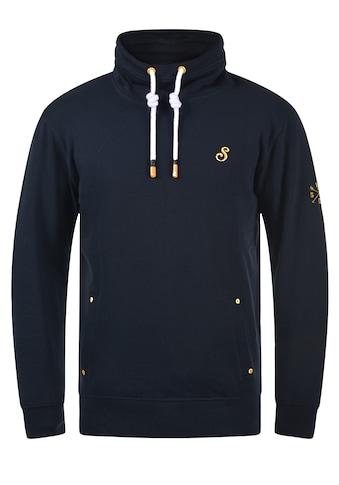 Solid Sweatshirt »Kaan«, Kapuzenpullover mit kontrastreichen farblichen Details kaufen