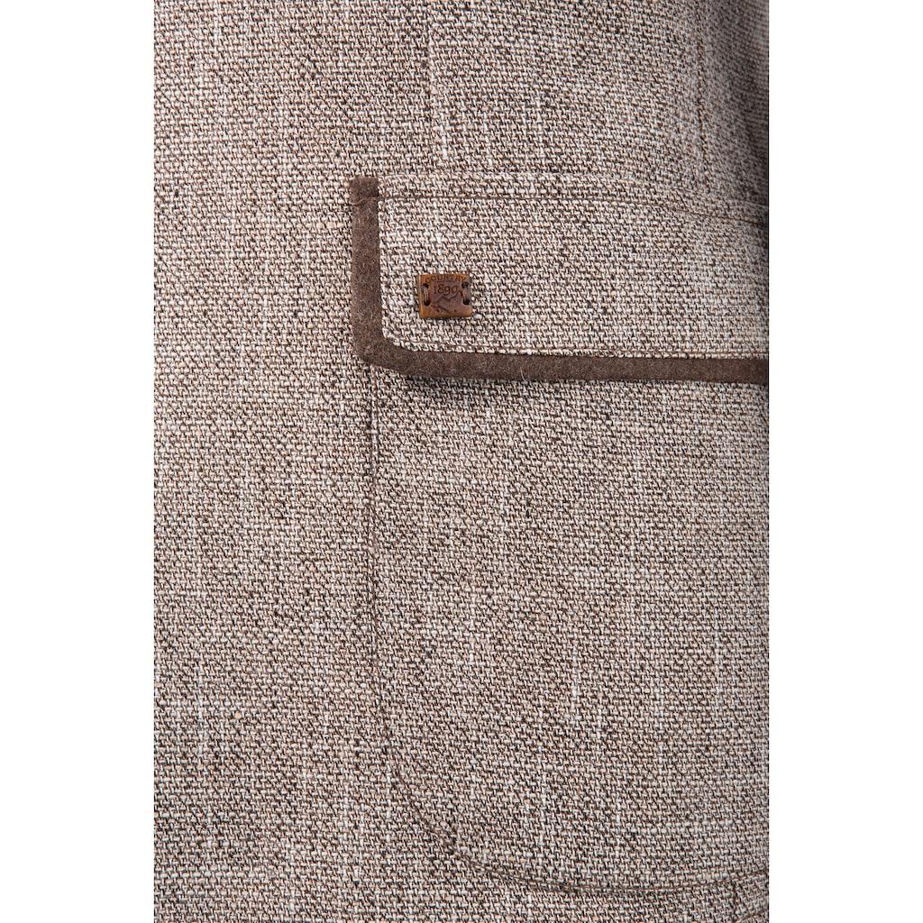 Murk Trachtensakko, aus schönem Strukturstoff