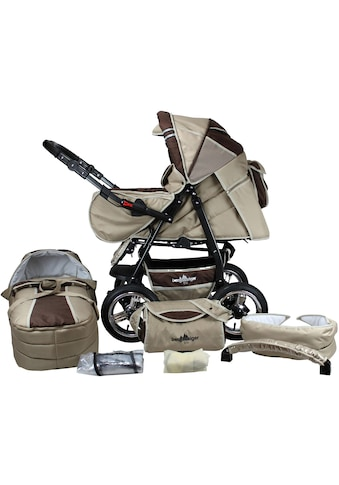 bergsteiger Kombi-Kinderwagen »Rio, coffee & brown, 3in1«, mit Lufträdern; Made in... kaufen