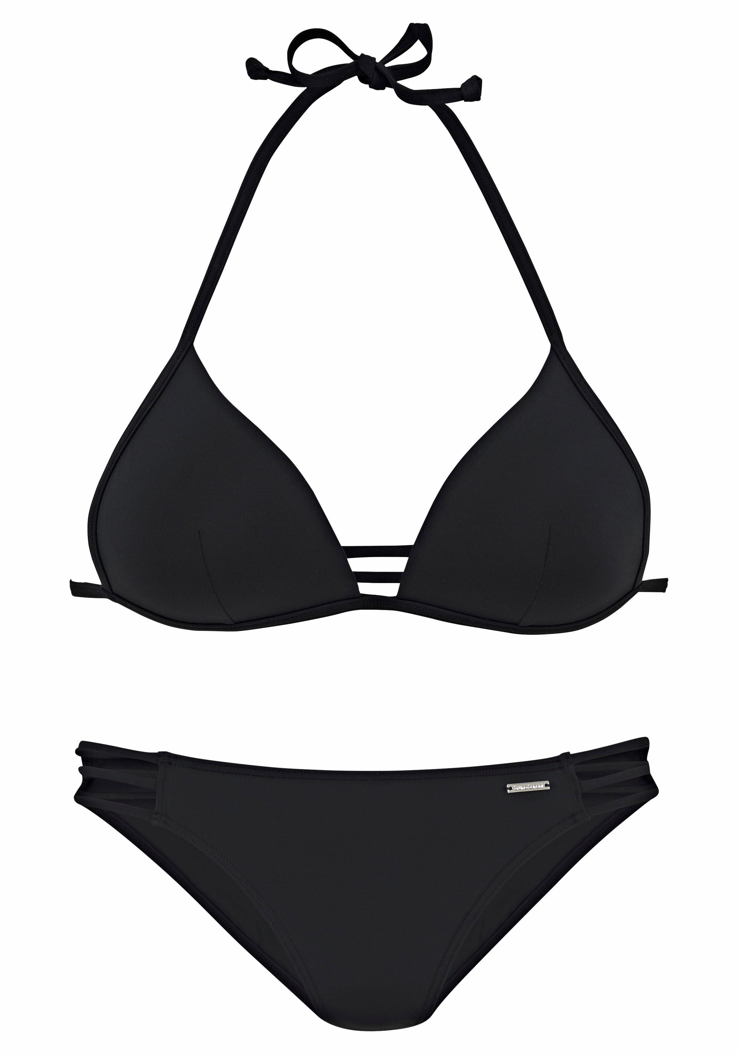 Bruno Banani Triangel-Bikini mit Zierbändern