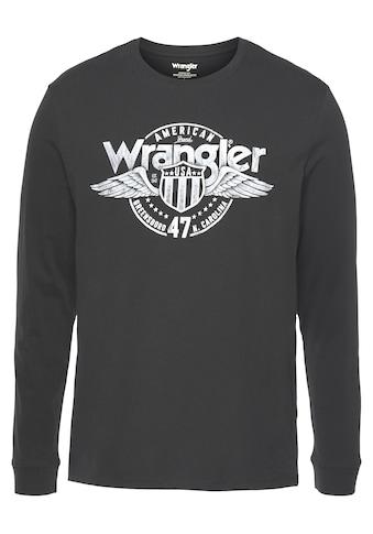 Wrangler Langarmshirt »Americana« kaufen