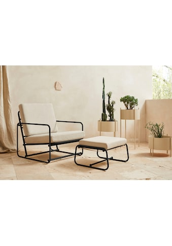 LeGer Home by Lena Gercke Loungesessel »Indira«, Sitz -und Rücken gepolstert, in 2 Varianten erhältlich kaufen