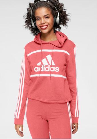 adidas Performance Kapuzensweatshirt »WOMEN COLORBLOCK CROPPED HOODIE« kaufen