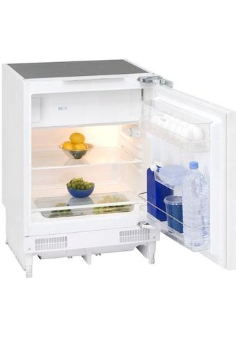 exquisit Einbaukühlschrank »UKS 130-1.2 A+«, 82 cm hoch, 59 cm breit kaufen