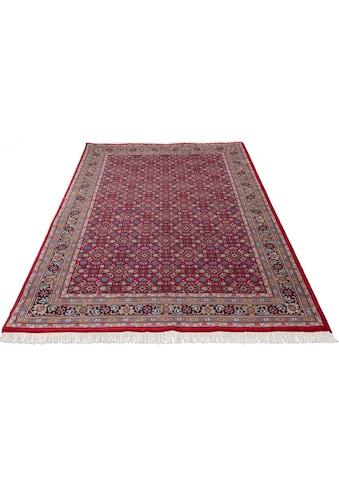 Home affaire Orientteppich »Kiara«, rechteckig, 12 mm Höhe, handgeknüpft, mit Fransen, Wohnzimmer kaufen