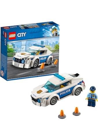 LEGO® Konstruktionsspielsteine »Streifenwagen (60239), LEGO® City«, (92 St.), Made in... kaufen