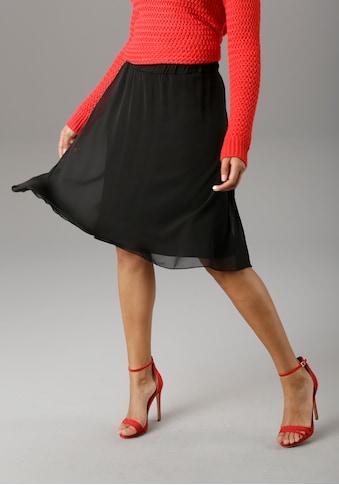 Aniston SELECTED Sommerrock, mit bequemem Gummizug - NEUE KOLLEKTION kaufen