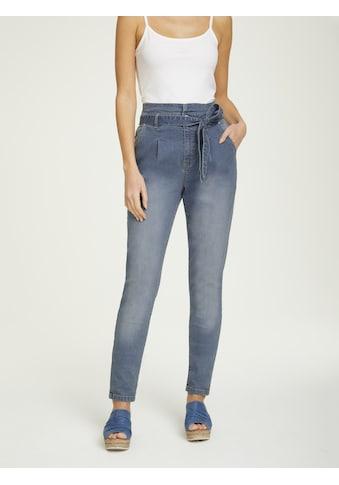 LINEA TESINI by Heine Boyfriend-Jeans, mit Bindegürtel kaufen