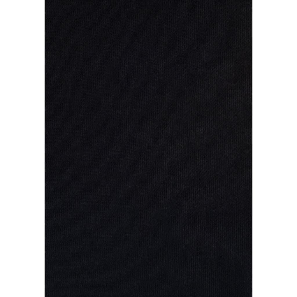 s.Oliver Panty, (3 St.), mit graphischem Spitzenbündchen