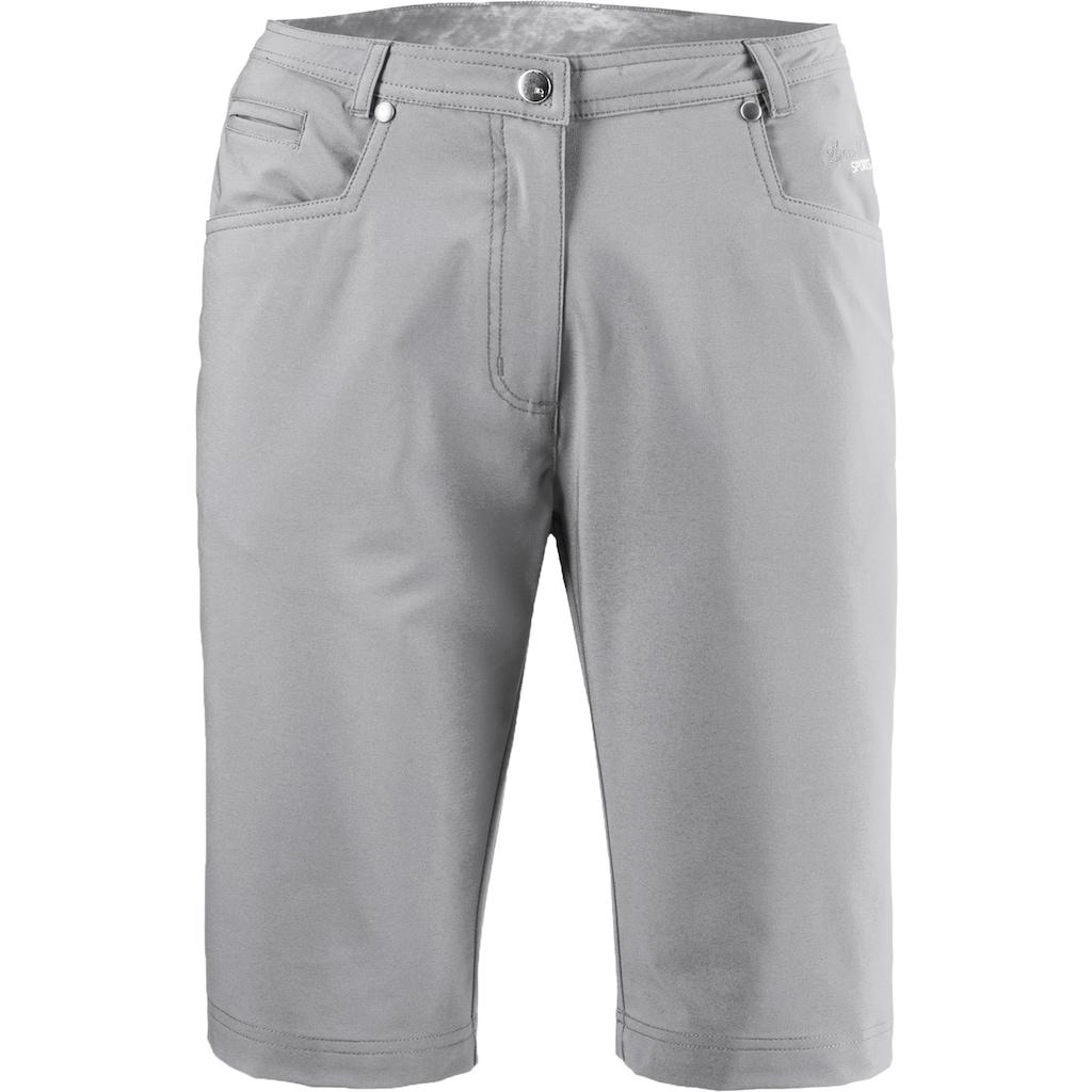 DEPROC Active Bermudas »KENORA URBAN Short & kurze Hose«, In melierter Optik