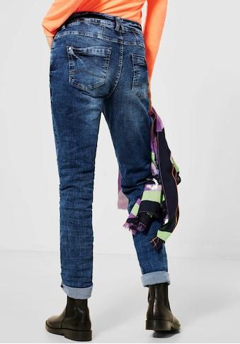Cecil Loose-fit-Jeans »Scarlett«, mit Kontrastnähten kaufen