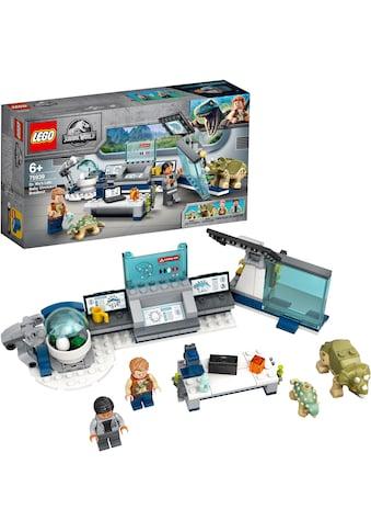 """LEGO® Konstruktionsspielsteine """"Dr. Wus Labor: Ausbruch der Baby - Dinosaurier (75939), LEGO® Jurassic World™"""", Kunststoff, (164 - tlg.) kaufen"""