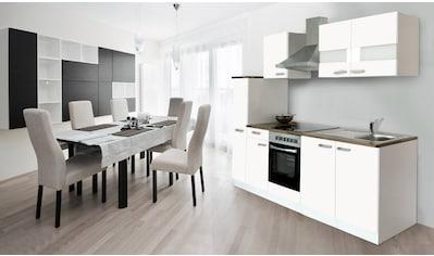 RESPEKTA Küchenzeile, mit E-Geräten, Breite 240 cm kaufen
