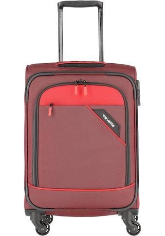 travelite Weichgepäck-Trolley »Derby, 55 cm, rot«, 4 Rollen kaufen
