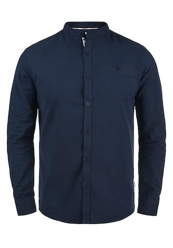 Solid Langarmhemd »Allion«, Hemd mit Knopfleiste kaufen
