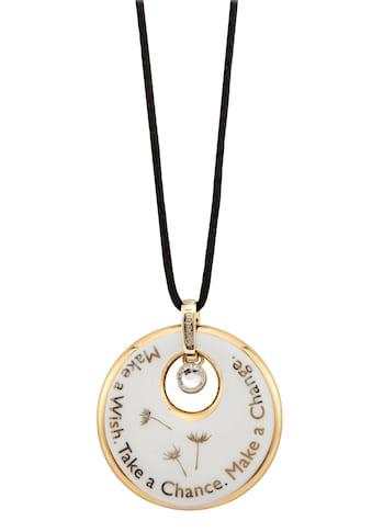 Goebel Kette mit Anhänger »Make a Wish. Take a Chance. Make a Change, 14004471«, mit Swarovski® Kristall kaufen