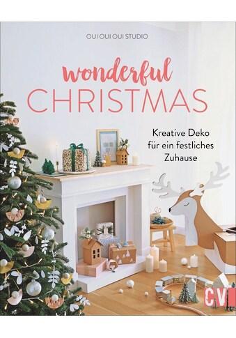 Buch »Wonderful Christmas / oui oui oui studio, Katrin Korch« kaufen