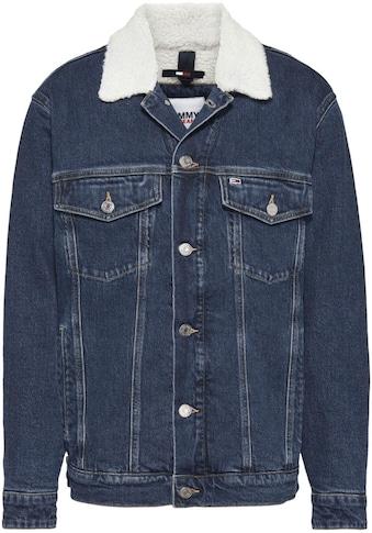 Tommy Jeans Jeansjacke »OVR SHRP TRCK JCKT BE551 DBRG«, im typischen Truckerstil kaufen