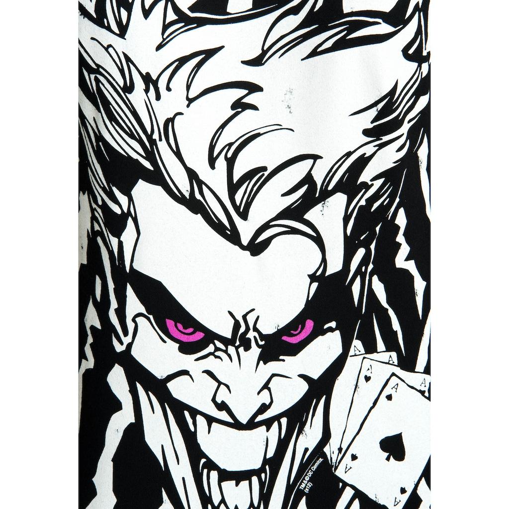 LOGOSHIRT T-Shirt »The Joker«, mit lizenziertem Originaldesign