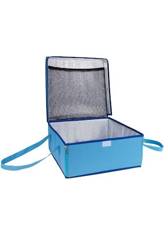 WENKO Kühltasche »BLAU«, Transporttasche für Kuchen kaufen