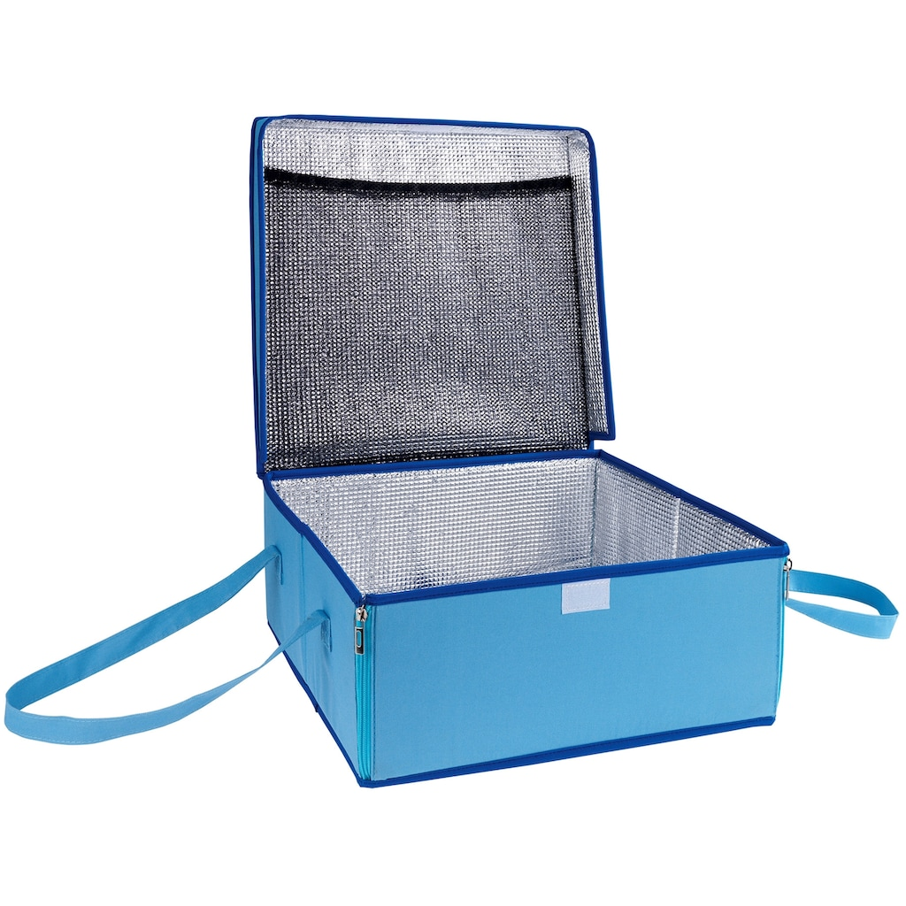 WENKO Kühltasche »BLAU«, Transporttasche für Kuchen