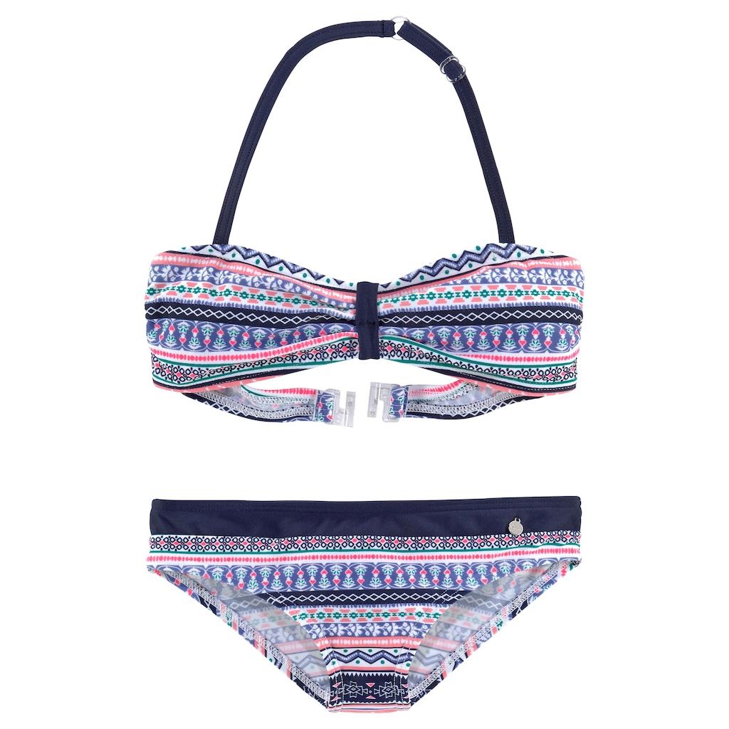 s.Oliver Bandeau-Bikini, im frechen Streifen-Look
