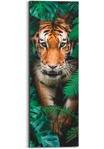 Reinders! Holzbild »Walking Tiger«, (1 St.) kaufen