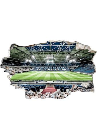 Wandtattoo »FC Schalke 04 Arena Tribüne« kaufen