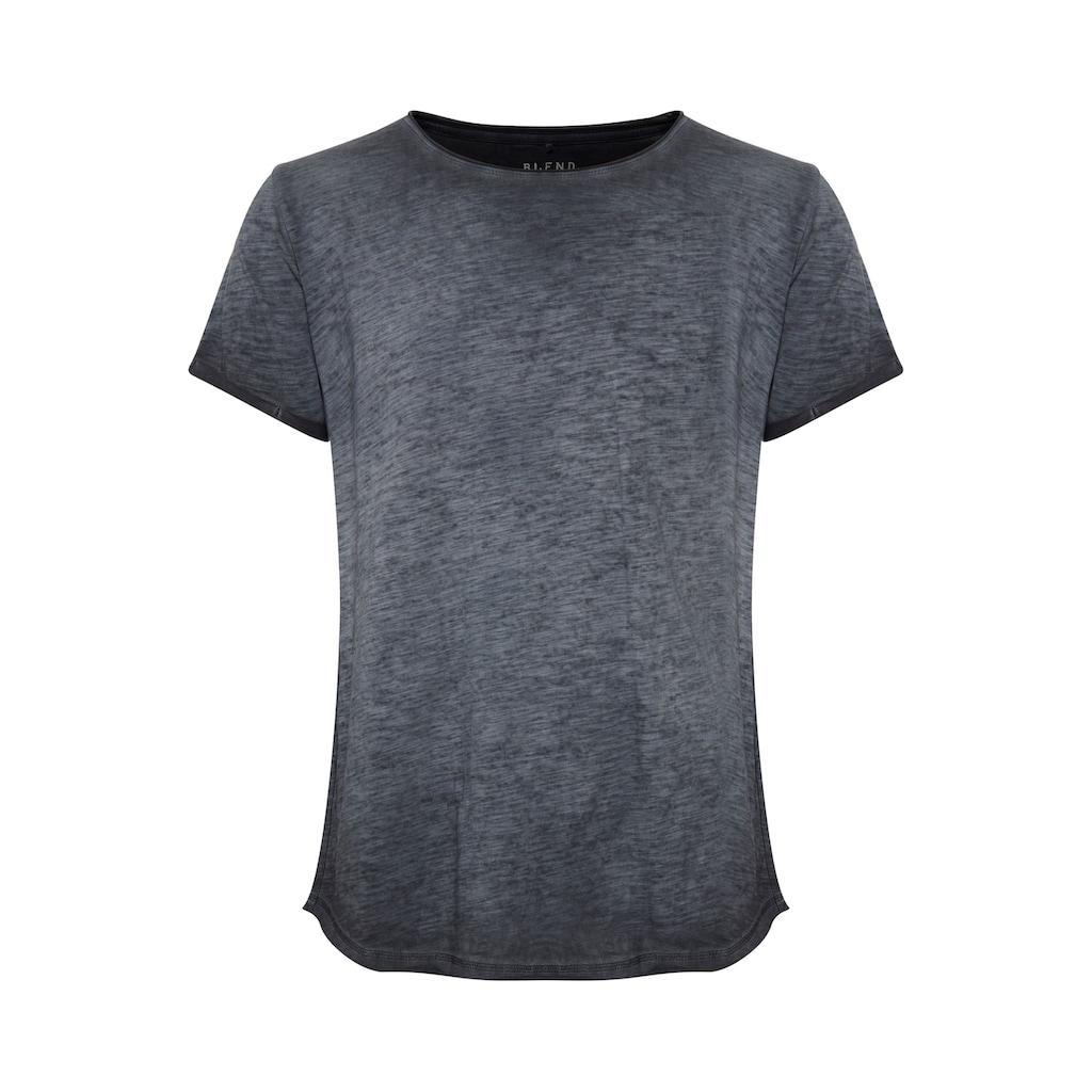 Blend Rundhalsshirt »Mino«, T-Shirt in Cold-Dyed-Waschung