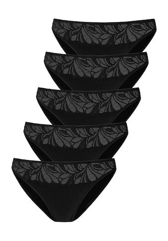 Vivance Bikinislip, mit floraler Spitze vorn kaufen