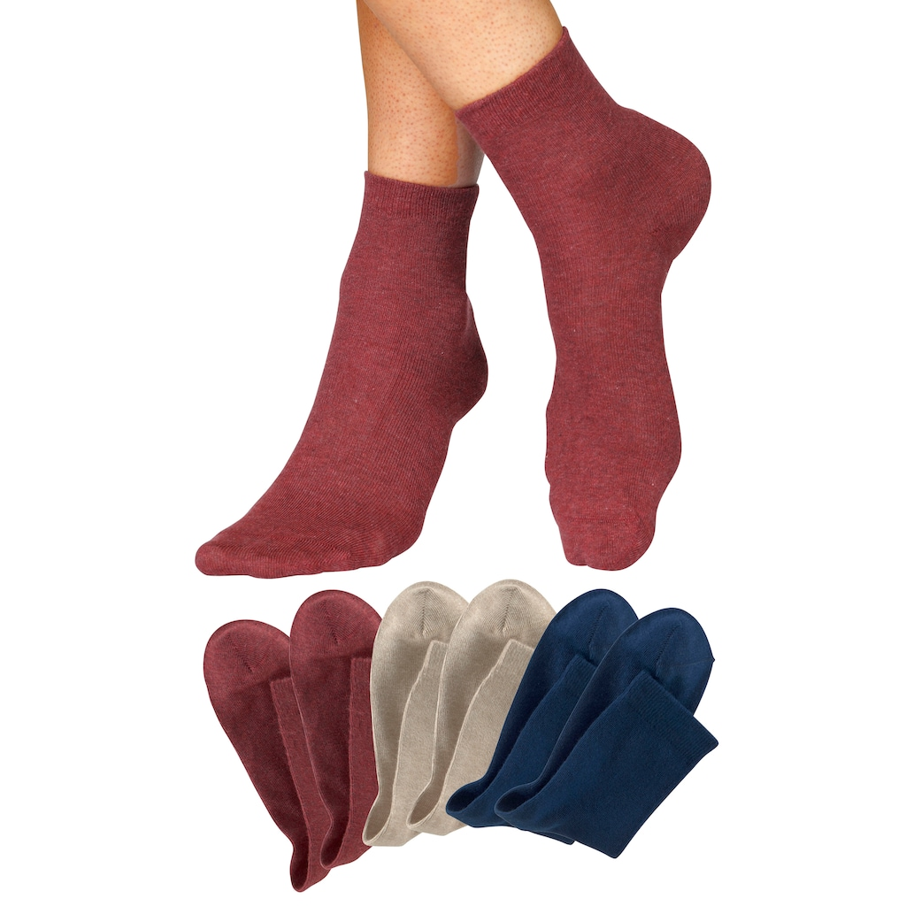 H.I.S Socken, (6 Paar), in aktuellen Farben