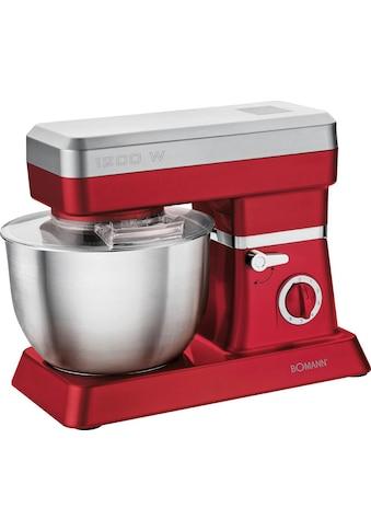 BOMANN Küchenmaschine »KM 398 CB ROT« kaufen