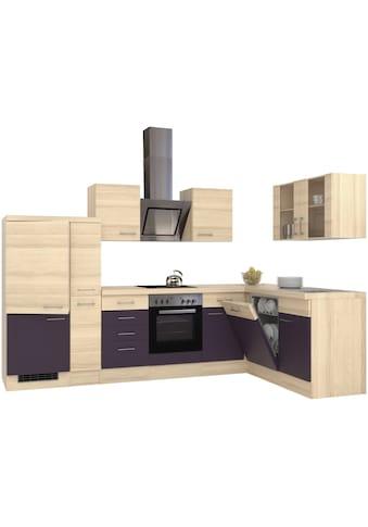 Flex-Well Winkelküche, mit E-Geräten, Stellbreite 310 x 170 cm kaufen