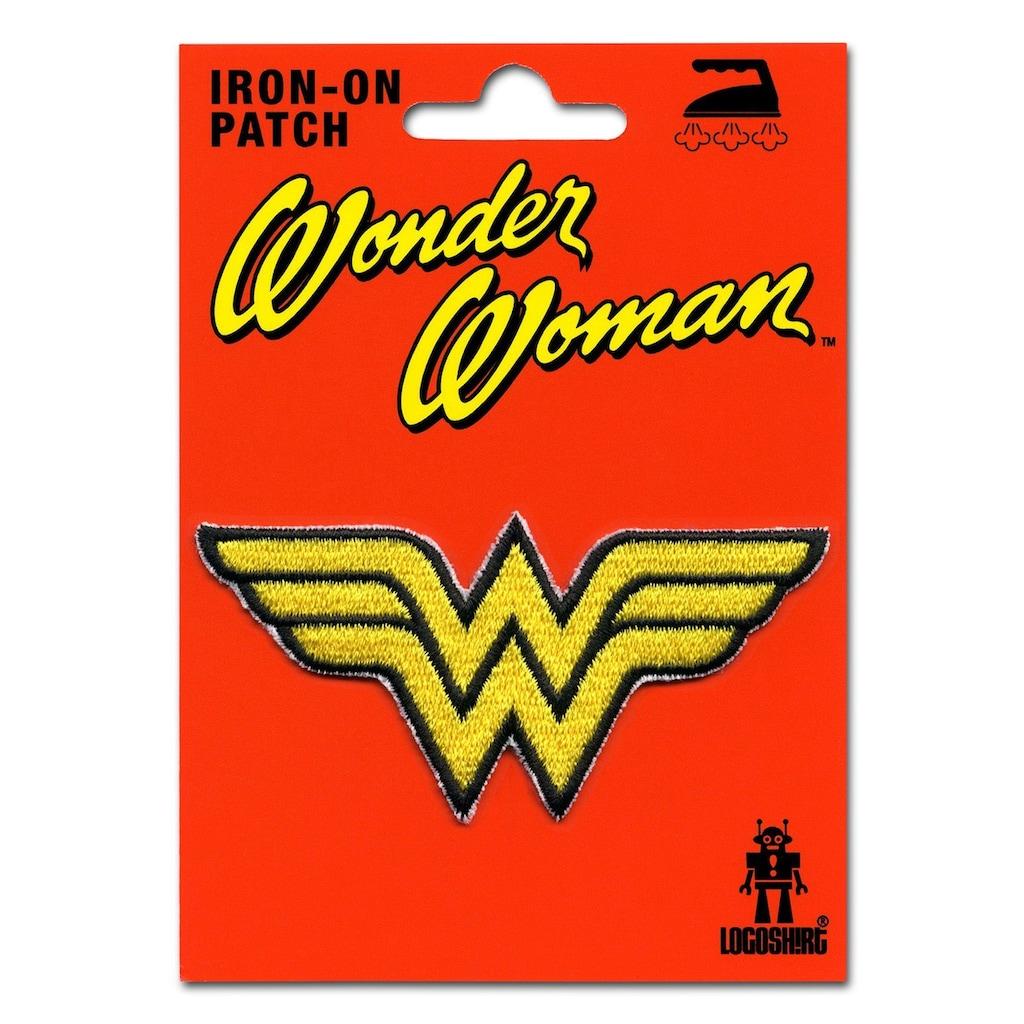 LOGOSHIRT Aufnäher mit Wonder Woman-Logo