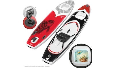 Sportstech Inflatable SUP-Board »WBX_REDFIREFISH«, (Set, 9 tlg., mit Paddel, Pumpe,... kaufen