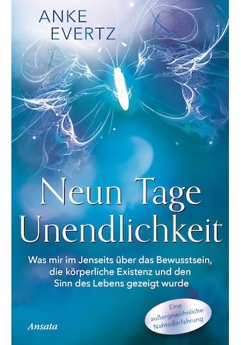 Buch »Neun Tage Unendlichkeit / Anke Evertz« kaufen